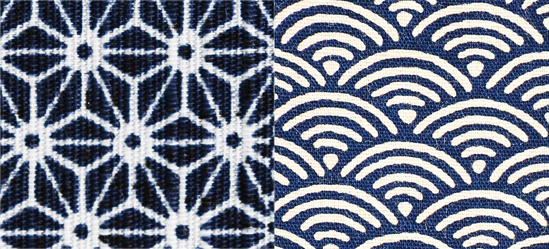 Traditional Japanese Patterns with everyday motifs