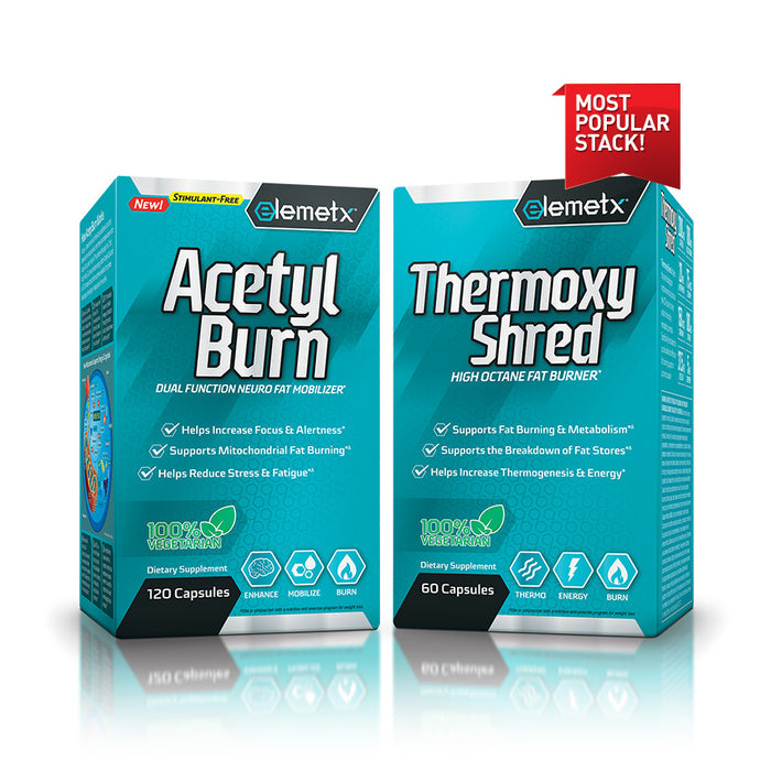 Best fat burning stack AcetylBurn and ThermoxyShred