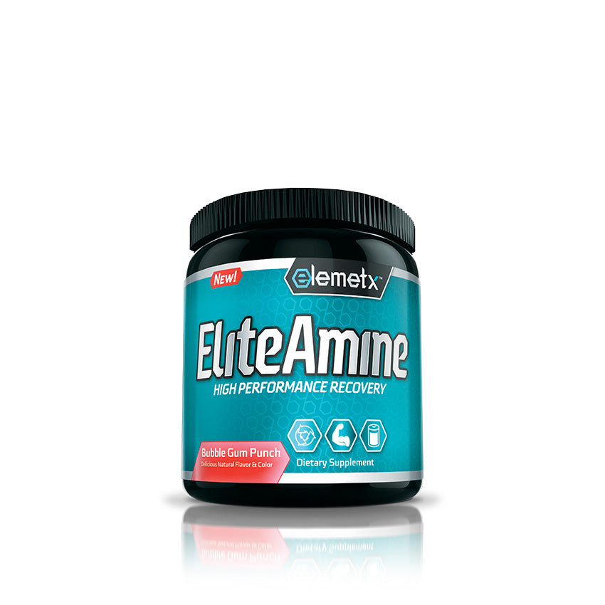 EliteAmine bcaa recovery drink with coconut water and hica