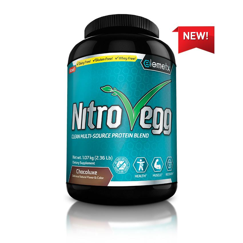 NitroVegg Vegetable, Seed and Egg Protein Blend