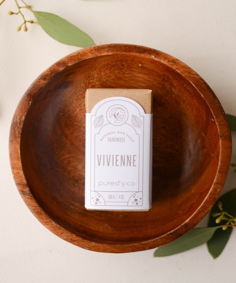 """Vivienne"" French Green Clay Soap"