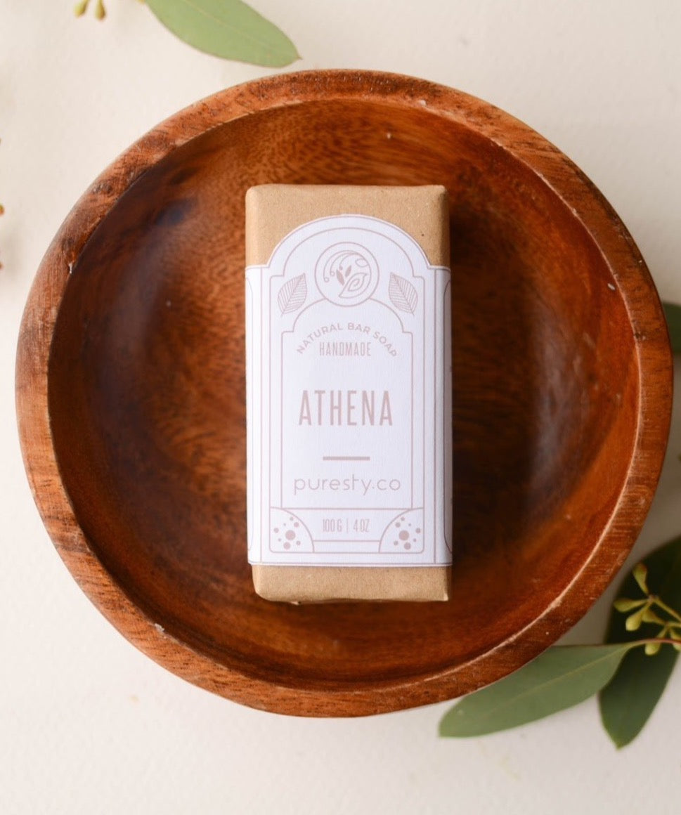 """Athena"" French Pink Clay Soap"