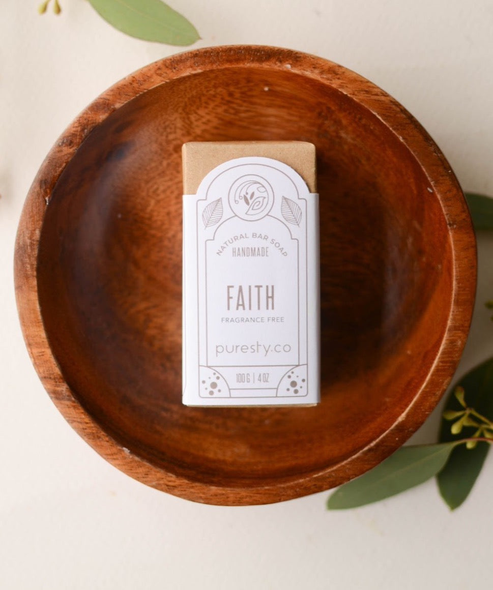"""Faith"" Fragrance Free Soap (Sensitive Skin)"