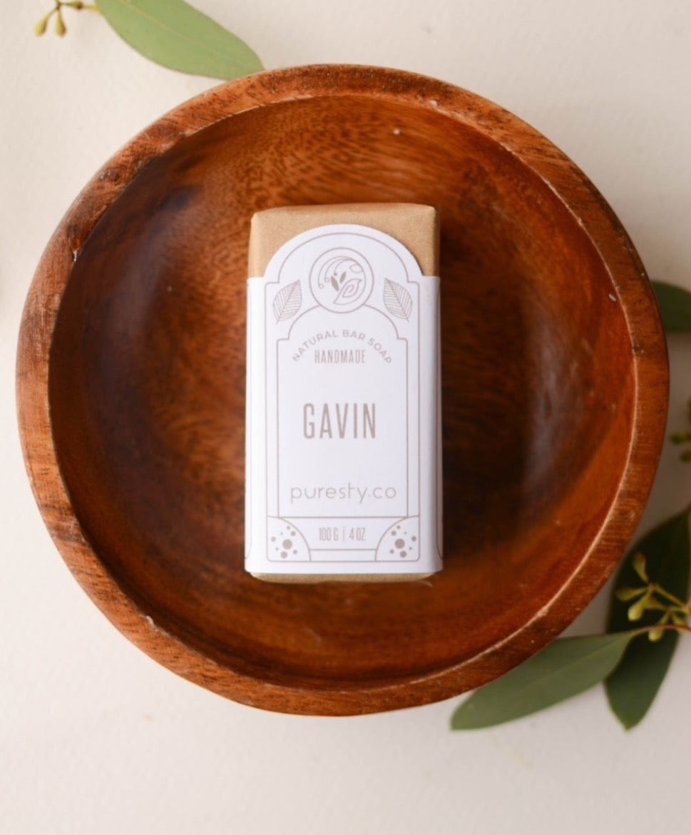 """Gavin"" Deep Cleansing Masculine Soap"