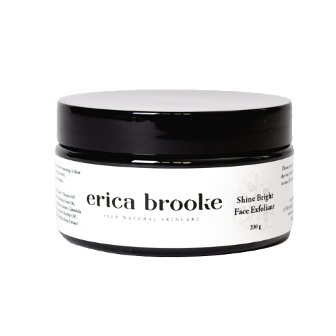 Erica Brooke Shine Bright Face Exfoliator