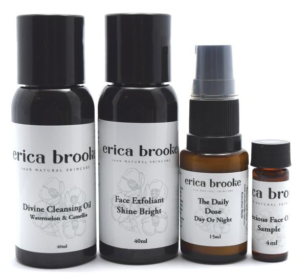 Erica Brooke Divine Cleansing Oil Trial Pack
