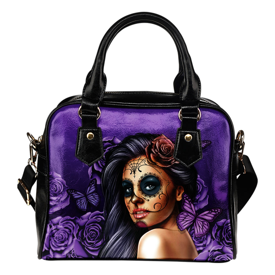 Calavera Woman Cross Body Bag