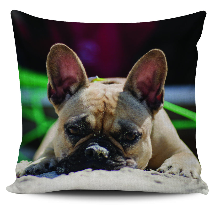 Frenchie Love Pillow Set