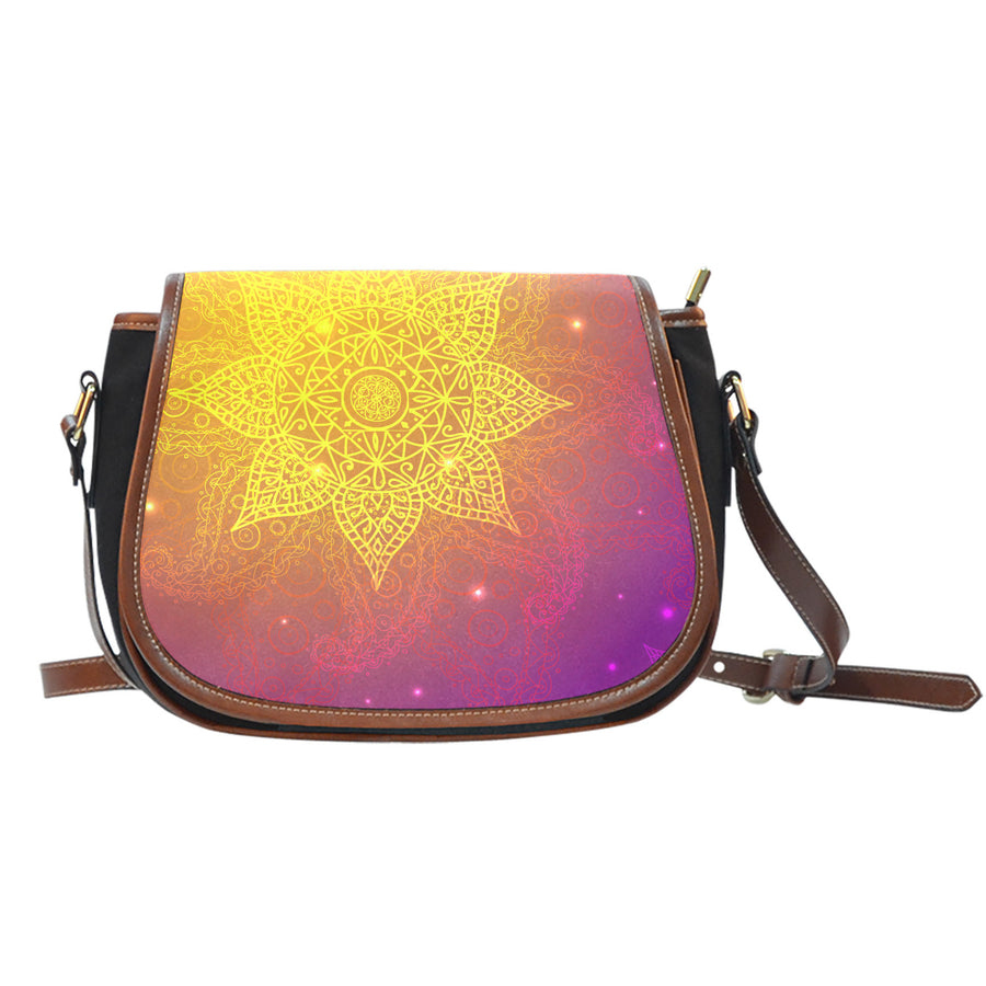 Meditation Cosmos Saddle Bag