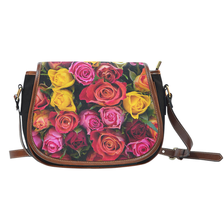 Rose Garden Saddle Bag