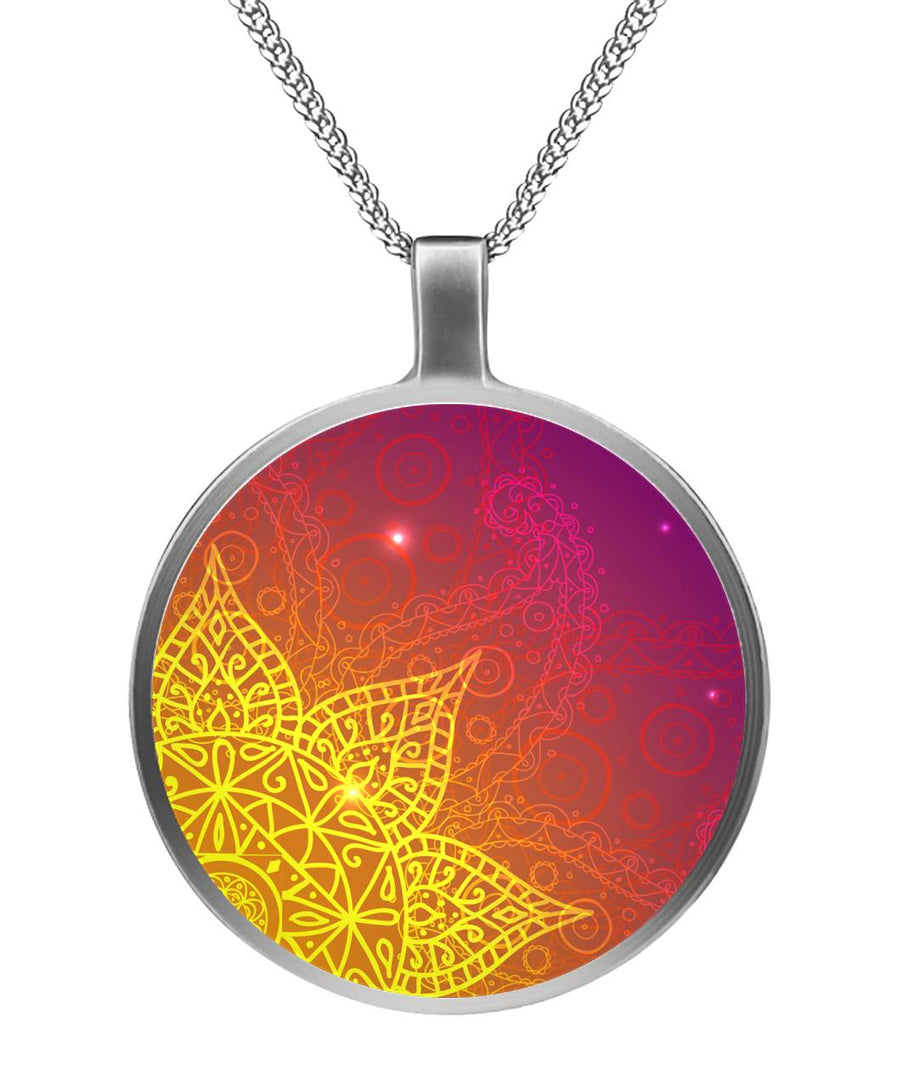 Meditation Cosmos Circle Necklace