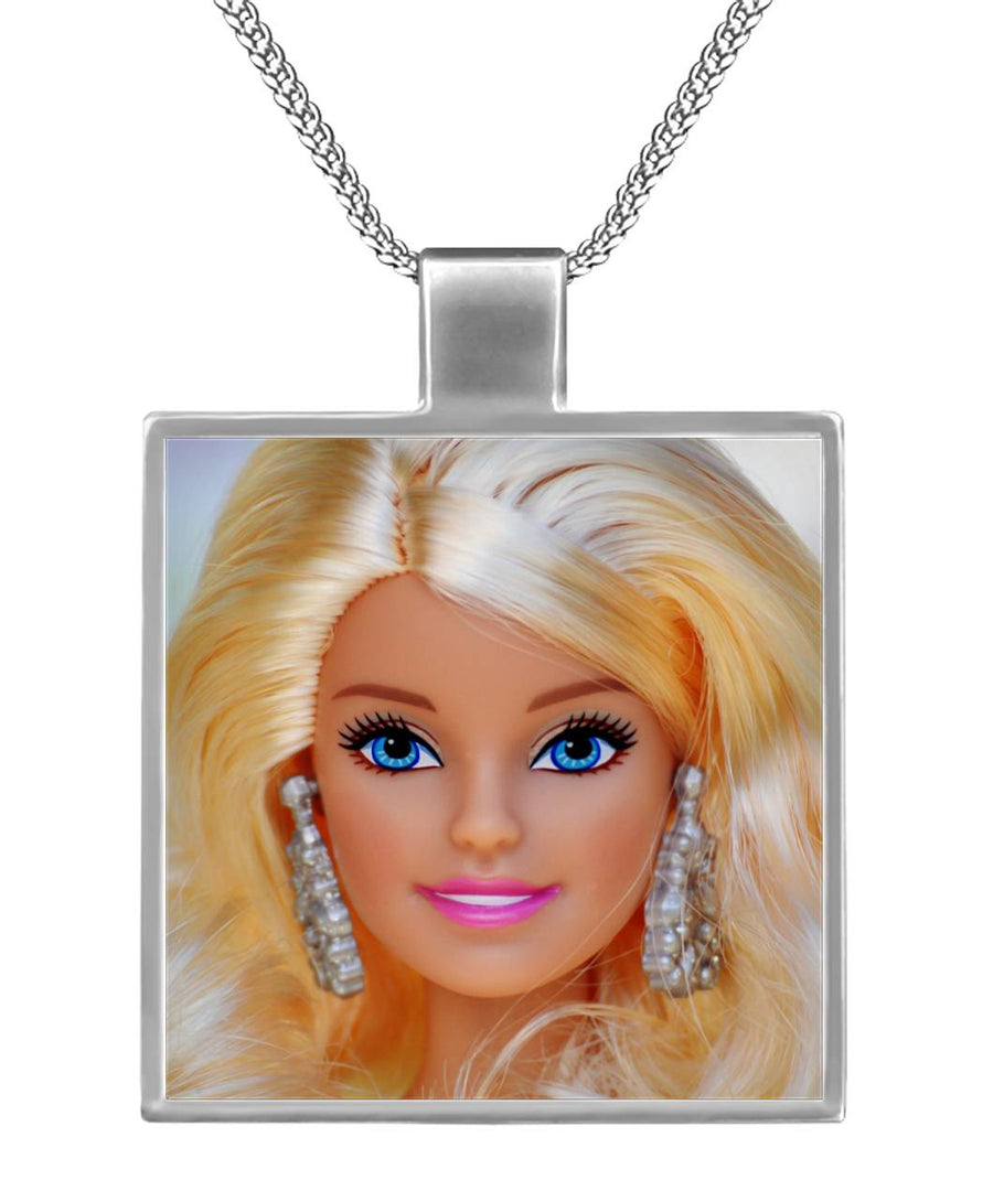 Dream Barbie  Square Necklace