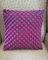 Cushion - Pink Bobble