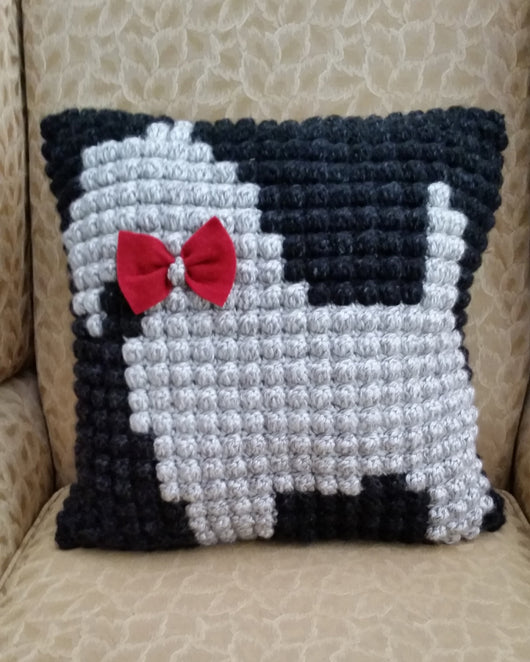 Cushion - Snowy the Scottie