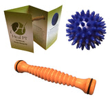 Foot Roller and Porcupine Ball  - Plantar Fasciitis Massager and Acupressure Massage Ball