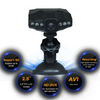 "2.5"" Dashcam Pro W/ 6 Infrared Night Vision LEDs"