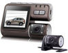 "2"" Dual Lens Front & Rear Video Camera Recorder"