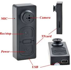 Mini HD Button Digital Video Recorder Spy Hidden Pinhole Cam