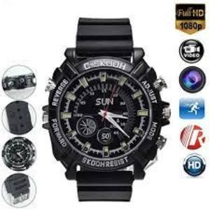 32G HD 1080P Hidden Wrist Watch Camera