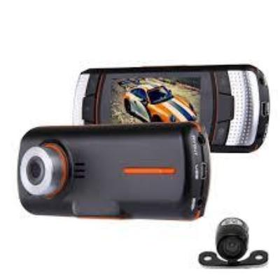"2.7"" 1080p Wide Angle Dual Lens Night Viewing Car DVR"