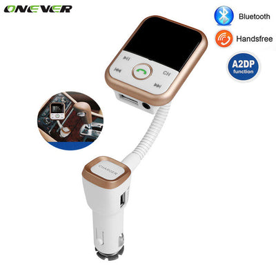 Onever Bluetooth Handsfree FM Transmitter MP3 Music Player