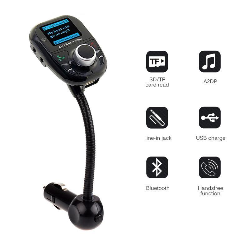 Bluetooth Handsfree FM Transmitter MP3 Music Player