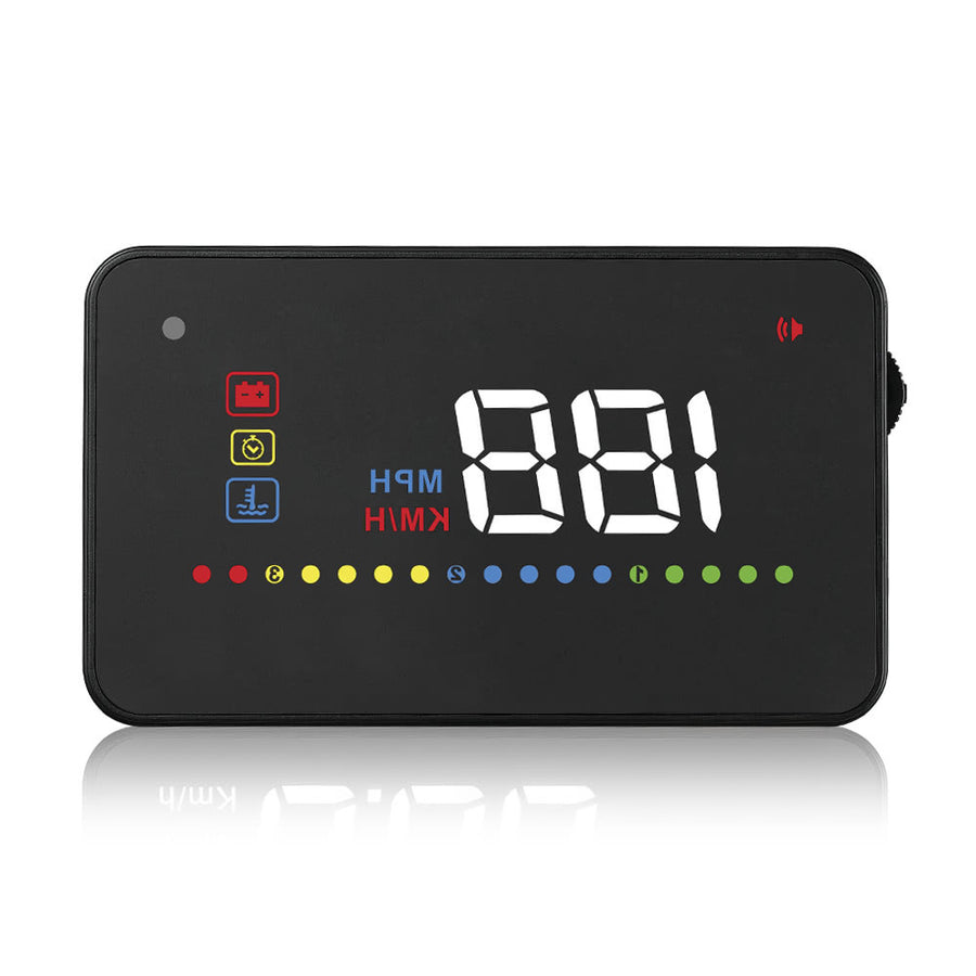 "3.5"" Universal HUD Speeding Warning Windshield Project System"