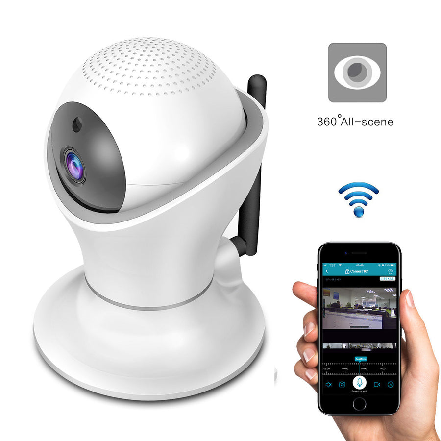 1080P Wifi IP Camera 360 Degrees Security Camera Night Vision Baby Monitor