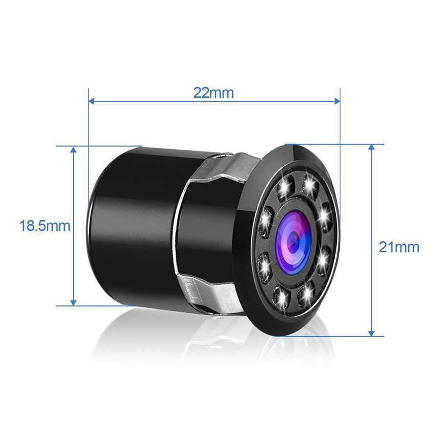Car Backup Rear View Reverse Parking 8 LED Night Vision HD Camera
