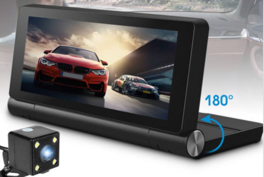 Folding Center Console Android Navigation Dashcam 4G - Extended shipping time - see below