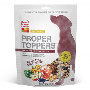 The Honest Kitchen Grain Free Proper Toppers - Beef