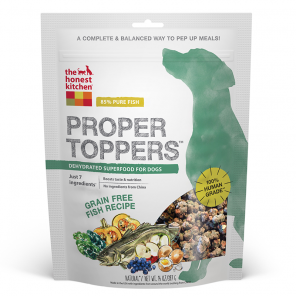 The Honest Kitchen Grain Free Proper Toppers - Fish