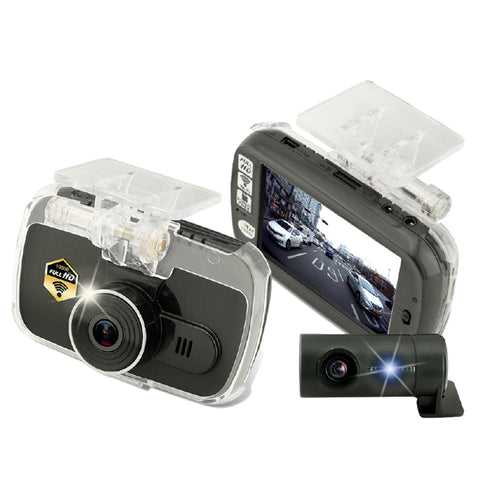 Marbella KR5 Dual Channel FullHD+HD Dashcam Recorder - Weikeng Technology Pte Ltd