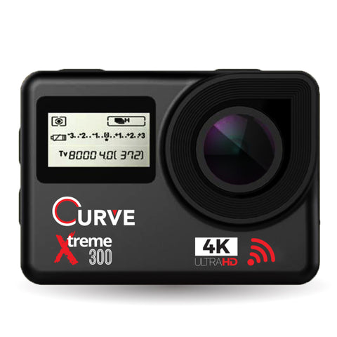 Curve Xtreme 300 Touchscreen 4K Actioncam - SanDisk Singapore Distributor Vector Magnetics Pte Ltd