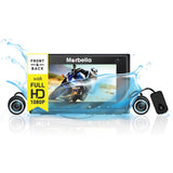 Marbella MT-I Waterproof Dual Channel FullHD+HD Dashcam Recorder - SanDisk Singapore Distributor Vector Magnetics Pte Ltd