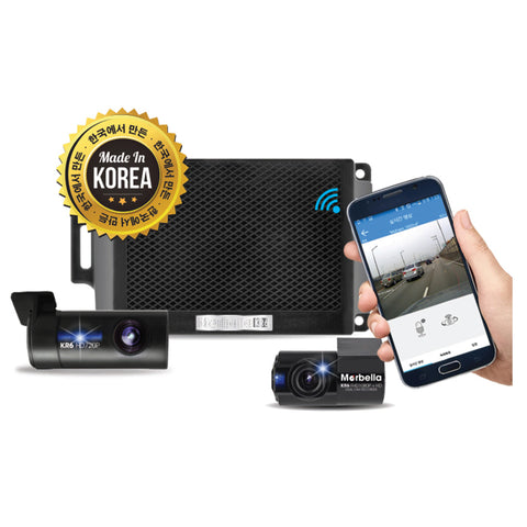 Marbella KR6 Dual Channel FullHD+HD Dashcam Recorder - SanDisk Singapore Distributor Vector Magnetics Pte Ltd