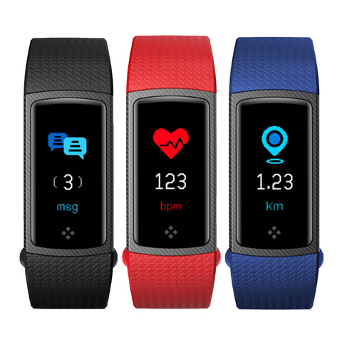 Curve KAZE - HRM Fitness Band - Weikeng Technology Pte Ltd