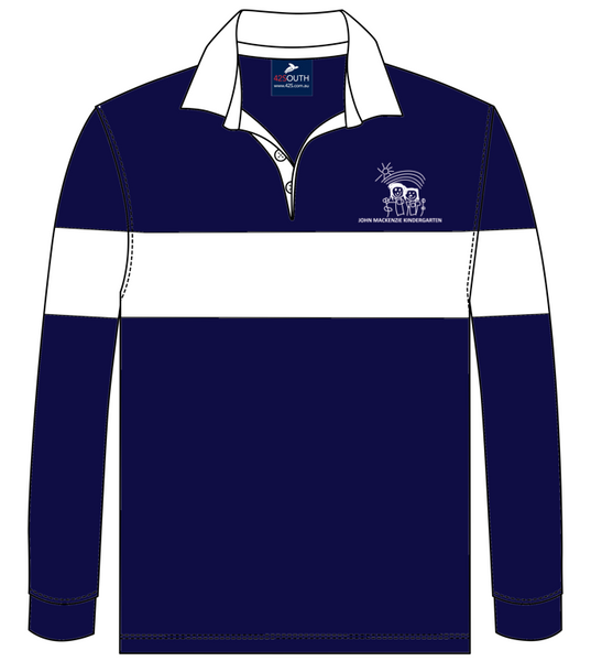 Custom rugby jumper for John Mackenzie Kindergarten