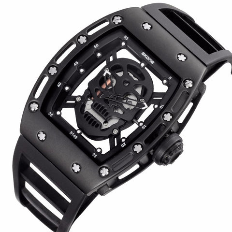 Skull Quartz Men Watch