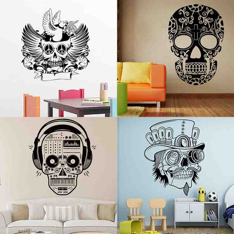 Skull Wall Decals