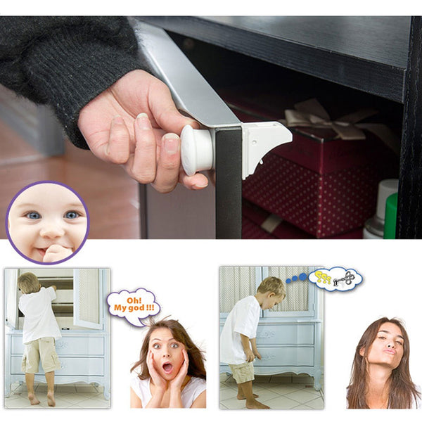 Magnetic Childproof Cupboard Safety Locks