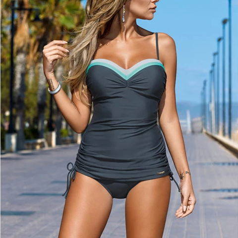 Image of Sporty Tankini Set