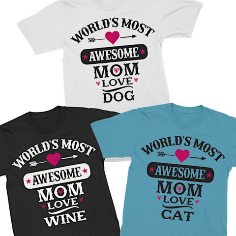 Image of World's Most Awesome MOM Love (Insert your custom activity here)