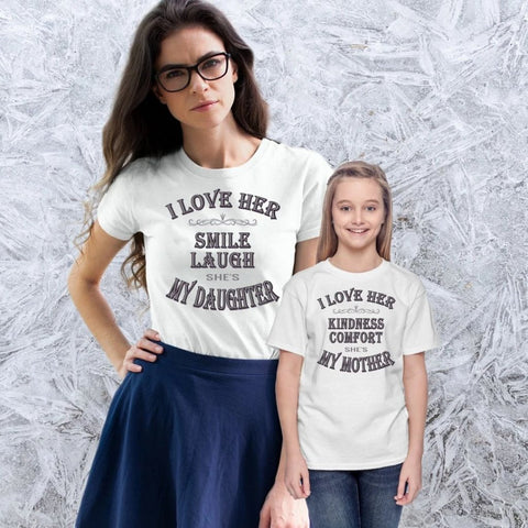 Mother And Daughter T-Shirt