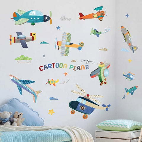Image of Airplane Wall Stickers