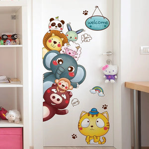 Nursery Animals Wall Stickers