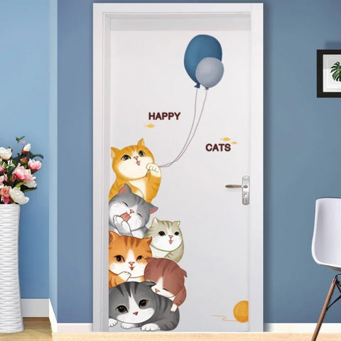 Animals Wall Stickers For Kids Room