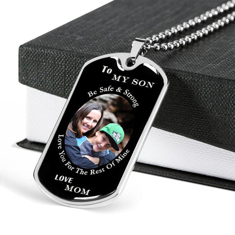 Your Image - Mother To Son Necklace