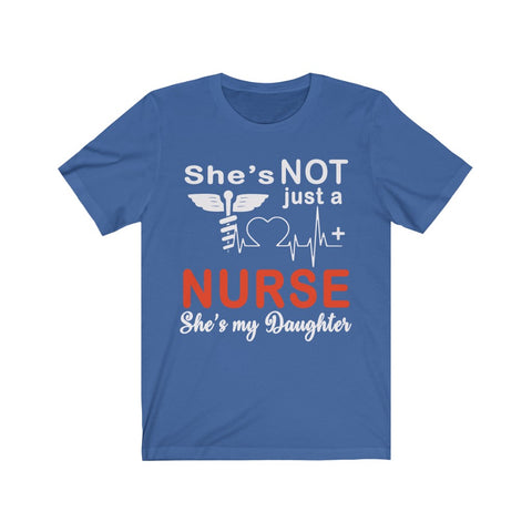 She's Not Just A Nurse Unisex Tee