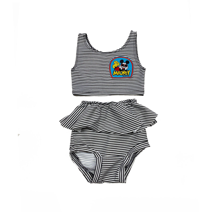 MICKEY STRIPE 2 PIECE SWIM